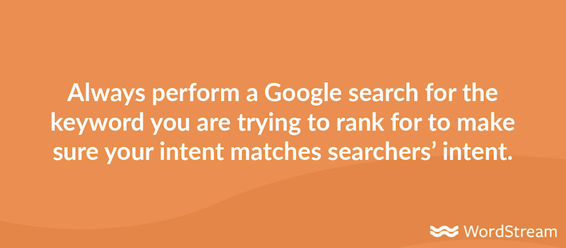 seo trends for 2021 search keyword intent BERT