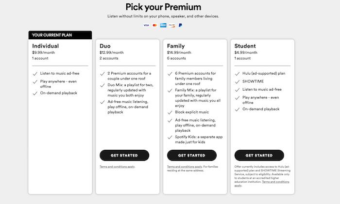 App Monetization Strategies - Offer Paid Premium Accounts