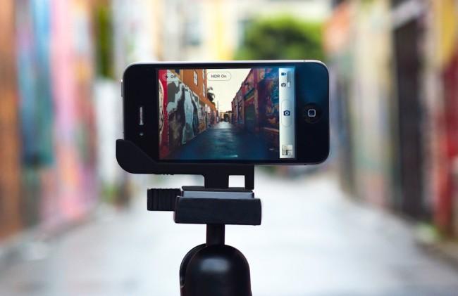 youtube seo use a phone tripod