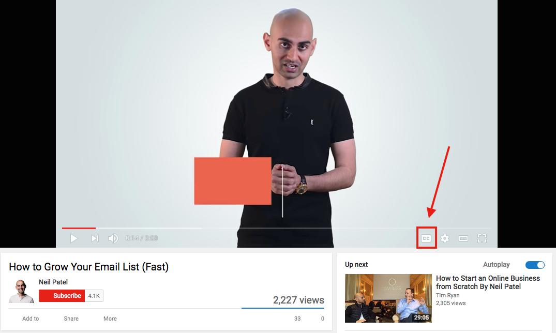 youtube seo tips add closed captions