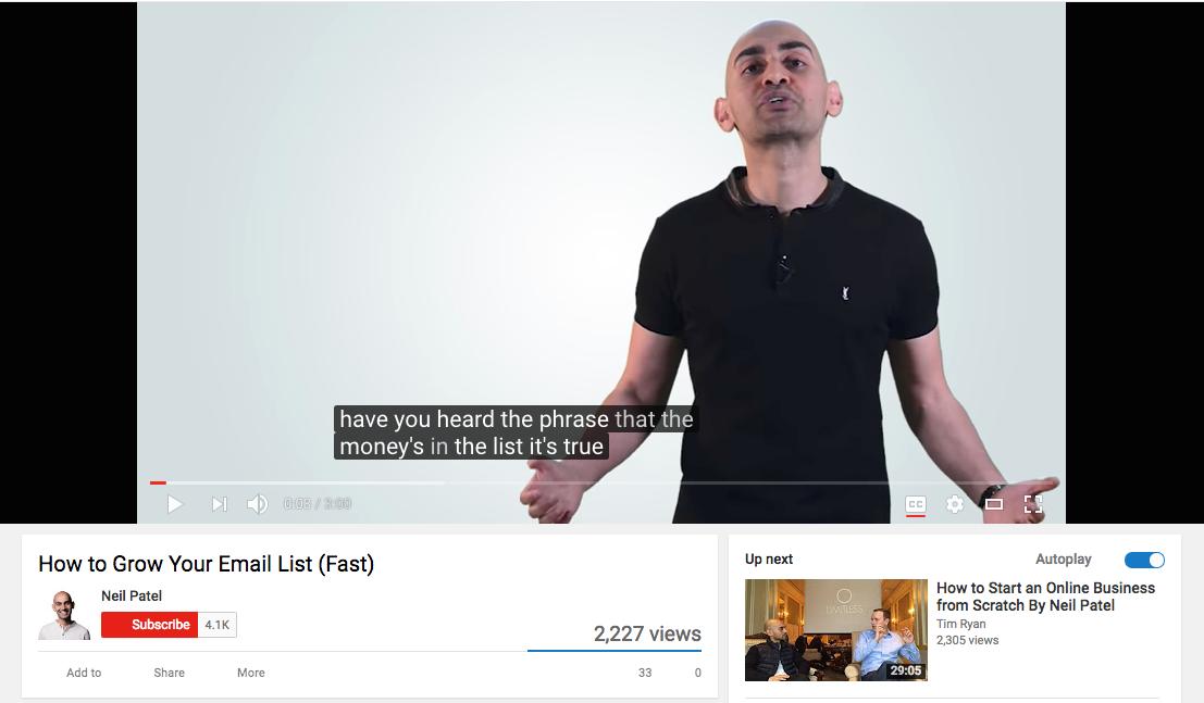 youtube seo tip add captions