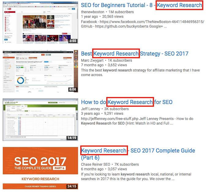 Youtube SEO steal keyword ideas