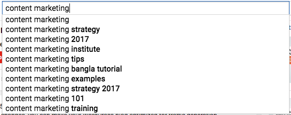 youtube seo use Youtube search to find keywords