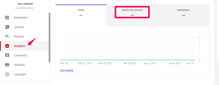 youtube SEO studio analytics